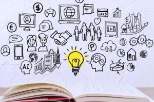 Buch das Ideen enthält