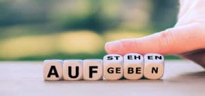Würfel mit 2 verschiedenen Worten